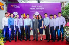 TPBank khai trương chi nhánh đầu tiên tại thành phố Nam Định