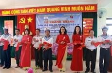 Agribank khánh thành công trình Nhà văn hóa đa năng trên đảo Cô Lin