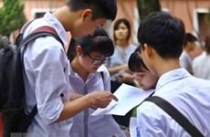 Đề thi chính thức môn Toán Kỳ thi trung học phổ thông quốc gia