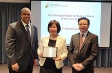 Vietcombank được The Asian Banker trao giải Ngân hàng mạnh nhất