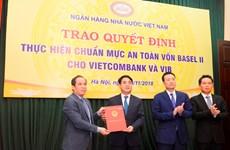 Vietcombank là ngân hàng đầu tiên đáp ứng chuẩn mực Basel II