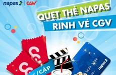 Mua 2 vé xem phim 2D chỉ 80.000 đồng tại CGV bằng thẻ NAPAS