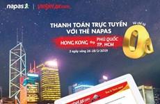 10.000 vé Vietjet tới Hongkong giá từ 0 đồng khi thanh toán qua NAPAS