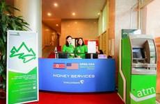 Ngân hàng duy nhất được cung cấp dịch vụ tiền tệ tại hội nghị Mỹ-Triều