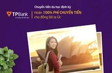 An tâm học tập với sản phẩm tài chính du học của TPBank