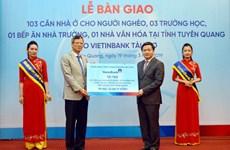 VietinBank tài trợ hơn 22 tỷ đồng an sinh xã hội tại Tuyên Quang