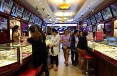 Hai thương hiệu vàng trong nước đảo chiều giảm nhẹ khoảng 30.000 đồng
