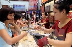 Hai thương hiệu vàng Rồng Thăng Long và SJC giảm khoảng 50.000 đồng