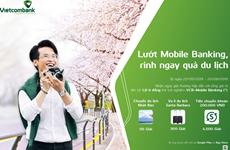 Kích hoạt thành VCB - Mobile B@nking có cơ hội du lịch Nhật Bản