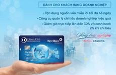 Nhiều ưu đãi từ thẻ tín dụng quốc tế VietinBank Diners Club