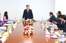 Phó Thủ tướng thăm chi nhánh ngân hàng Việt đầu tiên tại Myanmar