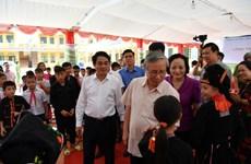 Khánh thành và bàn giao trường học tại Yên Bái do Vietcombank tài trợ