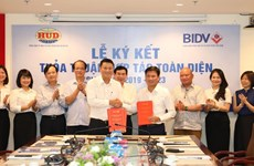 Bước tiến thúc đẩy quan hệ hợp tác chiến lược BIDV - HUD