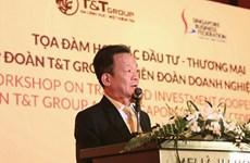 Tập đoàn T&T và doanh nghiệp Singapore tìm kiếm cơ hội hợp tác đầu tư
