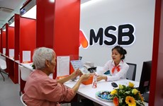 Lợi nhuận trước thuế của MSB đạt 567 tỷ đồng, tăng 192%
