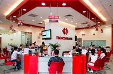 Lợi nhuận trước thuế của Techcombank đạt 5.700 tỷ đồng