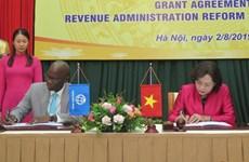 Ngân hàng Thế giới và Nhật Bản hỗ trợ hiện đại hóa hệ thống thuế
