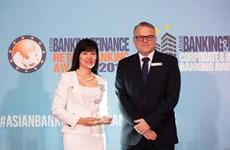 BIDV được vinh danh ngân hàng SME tiêu biểu tại Việt Nam