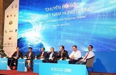 Ví Việt tham dự Diễn đàn cấp cao công nghệ thông tin Việt Nam 2019