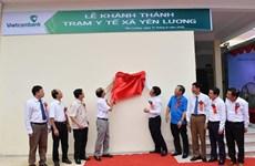 Phú Thọ: Vận hành trạm y tế xã do Vietcombank tài trợ 2 tỷ đồng