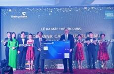 Vietcombank ra mắt thẻ tín dụng hoàn tiền cạnh tranh nhất thị trường