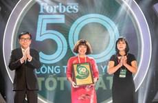 Techcombank đứng thứ 2 trong ngành ngân hàng niêm yết tốt nhất