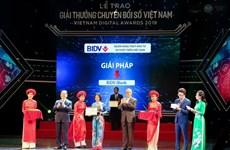 BIDV được trao giải doanh nghiệp chuyển đổi số xuất sắc