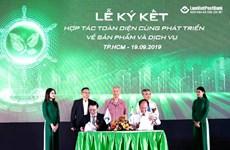 LienVietPostBank và Xelex cung cấp máy tính bảng phục vụ nông nghiệp