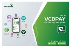 Vietcombank cải tiến và bổ sung các tiện ích mới trên VCBPAY