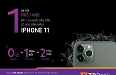 Chỉ 1 triệu đồng để sở hữu iPhone 11 chính hãng cùng thẻ TPBank