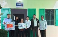 BIDV trao tặng nhà ở cho người nghèo tại tỉnh Thái Bình