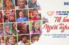 Khởi động giải chạy 'Nụ cười BIDV-Tết ấm cho người nghèo 2020'