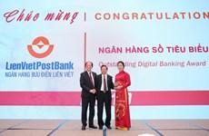 LienVietPostBank đạt giải thưởng Ngân hàng số tiêu biểu