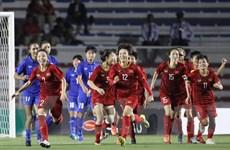 Vietcombank tặng 500 triệu đồng cho bóng đá nữ vô địch SEA Games 30