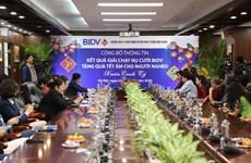 BIDV dành 20 tỷ đồng tặng quà cho người nghèo đón Tết