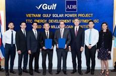 ADB, Leading Asia cho TTC vay 37,8 triệu USD xây nhà máy điện Mặt Trời
