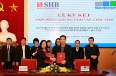 SHB đưa nguồn vốn giá rẻ đến các doanh nghiệp vừa và nhỏ