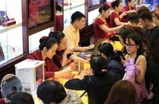 Hai thương hiệu vàng trong nước tiếp tục tăng nhẹ theo thế giới