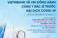 VietinBank và VBI đồng hành cùng các y, bác sỹ trước dịch COVID-19