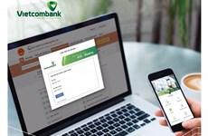Vietcombank cung cấp thanh toán trực tuyến trên Cổng Dịch vụ công