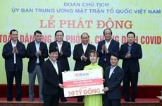 Nhiều tập đoàn lớn của Việt Nam chung tay đẩy lùi dịch COVID-19