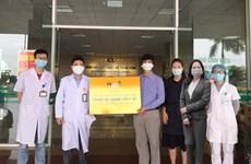 Thêm ngân hàng tài trợ vật tư y tế cho bệnh viện chống dịch COVID-19
