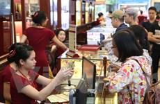 Hai thương hiệu vàng trong nước giảm 200.000 đồng theo đà thế giới