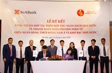 SeABank và Kho bạc phối hợp thu ngân sách, thanh toán song phương