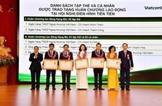 Vietcombank: 5 cá nhân và tập thể được trao tặng Huân chương Lao động
