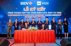 BIDV cung cấp dịch vụ thanh toán và ngoại hối cho VGSI