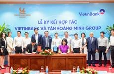 VietinBank và Tân Hoàng Minh hợp tác phát triển kinh doanh