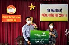 Vietcombank ủng hộ Đà Nẵng 5 tỷ đồng mua sinh phẩm chẩn đoán COVID-19