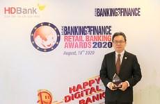 Ngân hàng HDBank dẫn đầu thị trường Việt Nam về mảng bán lẻ