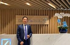 Ông Huỳnh Bửu Quang được bổ nhiệm làm Tổng Giám đốc Deutsche Bank